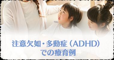 注意欠如・多動症(ADHD)での療育例